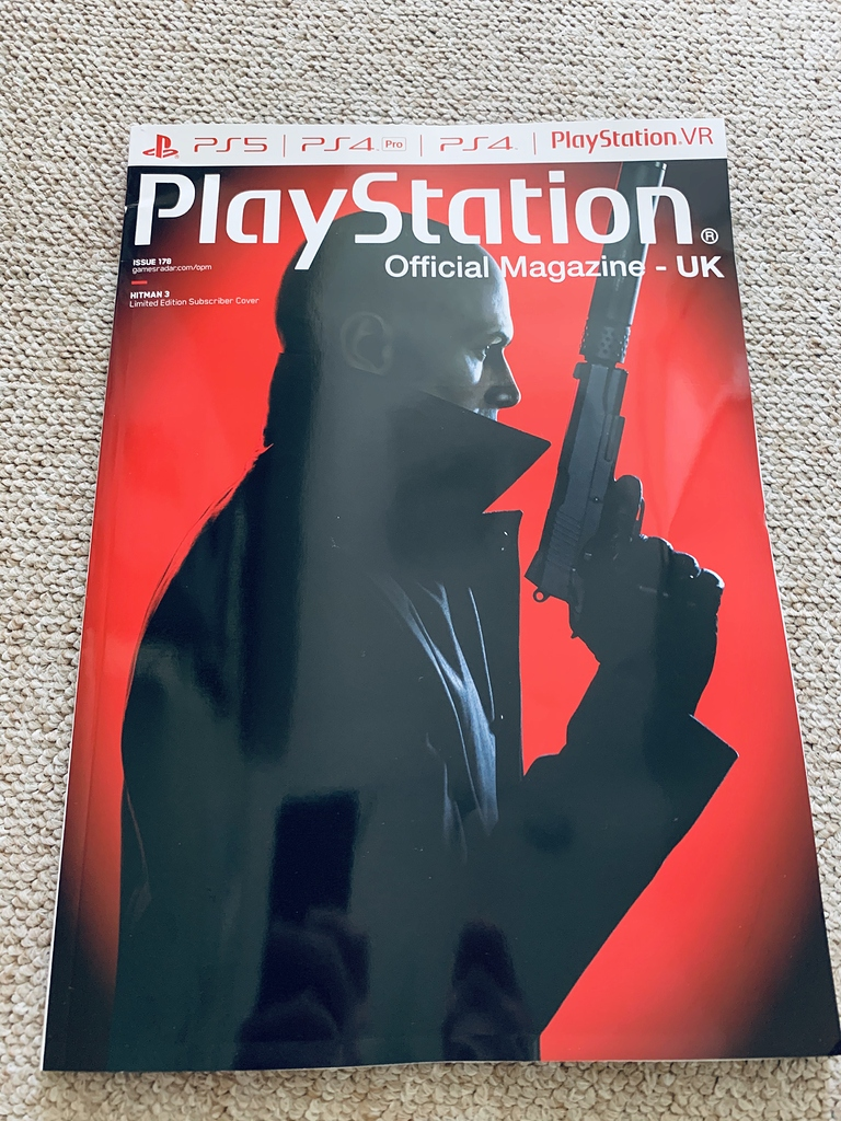 Hitman 3 Playstation Magazine Uk Issue 178 Hitman 3 2021