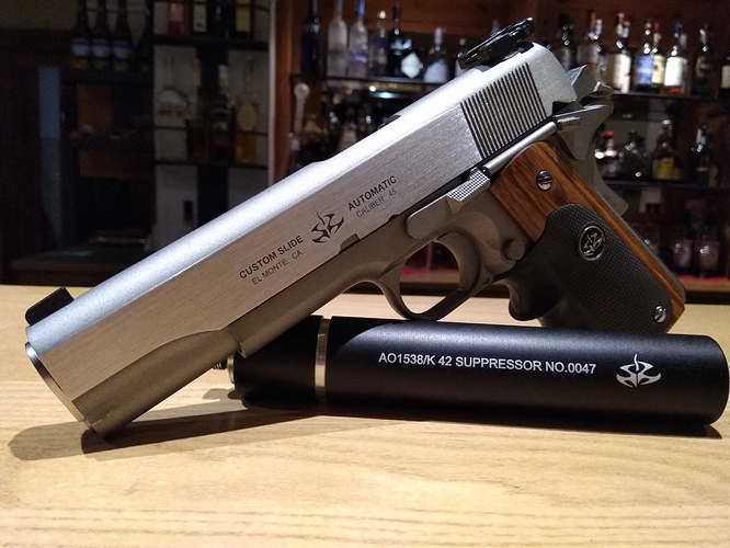 Silverballer Replica Mark 2 And Mark 3 The Closest To Perfection