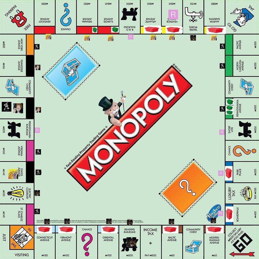 Настольной монополии картинки