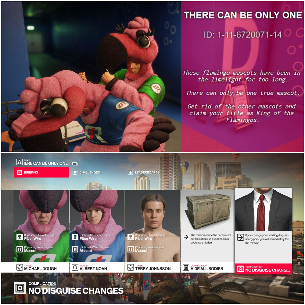 Official HITMAN 2 Themed Featured Contracts